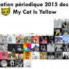 Classification périodique 2015 des albums  My Cat Is Yellow